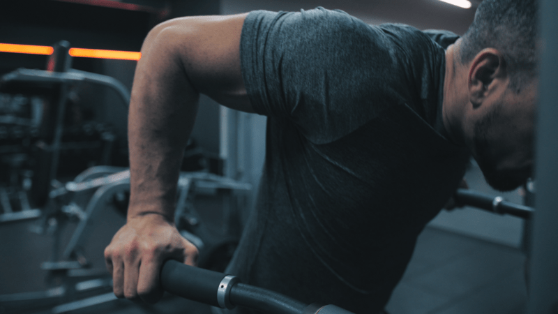 dips upper body workout